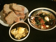 Jan 14, 2012. Cioppino & Sourdough Bread.