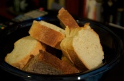 Jan 15, 2012. Bread for Hot cheese Dip, in honor of Green Bay Packers NFL Playoff game.