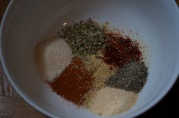 January 8, 2012. Spices, I think for chili. I love the look of this pile of spices.