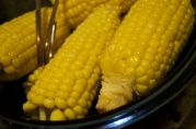 October 21, 2012. Can't get enough corn on the cob!