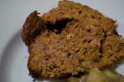 December 6, 2012. Cajun meatloaf, Paul Prudhomme's Louisiana Kitchen.