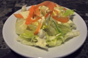 Feb 11, 2012. Iceberg salad with homemade blue cheese buttermilk dressing.