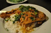 March 15, 2012. Moroccan Chicken. LOVE this dish. Preserved lemon, spices, long cooking - very soulful.