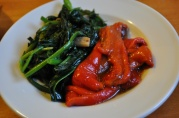 May 16, 2012. Sauteed Broccoli Rabe, Roasted Red Peppers.