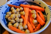 May 16, 2012. Chickpea and Carrot Salad, a la Thomas Keller's Bouchon.