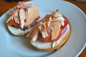 May 31, 2012. Curt's Smoked Trout Bagels. Smoked Trout courtesy of Max Creek Hatchery.