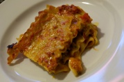 July 14, 2012. Marinara Lasagna.
