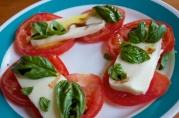 July 6, 2012. Caprese Salad. You'll see more of these, tomato season doesn't end until late August.